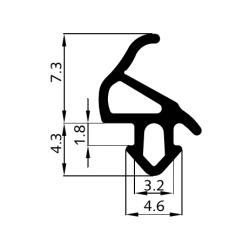 Tesnenie S-1559 Aluplast